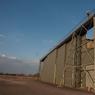 Le HM 17 (pour hangar métallique) est la plus grande construction de la base avec ses 80m x 50m sans poteau.