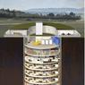 Vue en coupe de l'ancien silo à missiles.