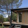 L'une des grandes cabane à vivre: modèle Kobe avec une toiture à 4 pans.