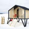 Dernière déclinaison: la cabane pour enfant.
