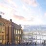 Pour faciliter le flux, les voyageurs entreront à l'est de la gare, du côté des trains de banlieue et sortiront du côté de la façade historique