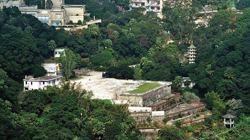 La parcelle d'1,15 hectare, avec vue imprenable sur Hongkong, accueillait jusqu'à peu une villa historique de 1927. Crédit: DR