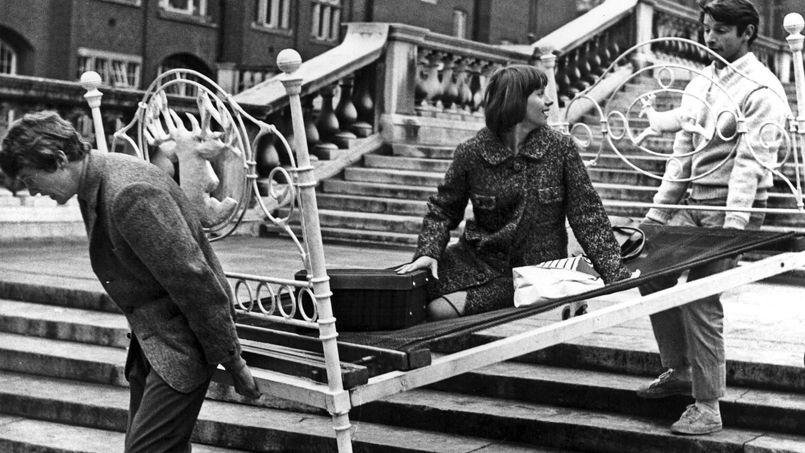 Image extraite de la palme d'or à Cannes, en 1965, «Le Knack... et comment l'avoir». Une certaine vision de la colocation à l'époque. Crédit: Rue des Archives/BCA