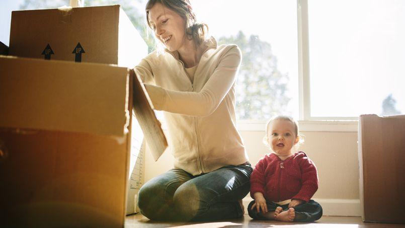 Les enfants logeant avec leur mère séparée sont globalement ceux qui perdent le plus de surface habitable.Crédit: RyanJLane/iStock