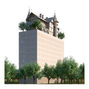 Un manoir perché en haut d'une tour, le nouveau projet fou de Starck