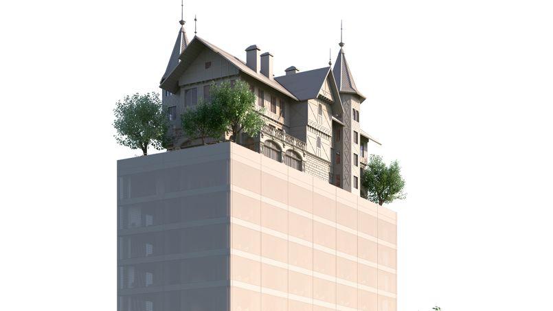 Le futur Hôtel Philippe Starck devrait ouvrir en 2018. .