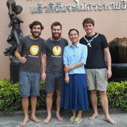 Trois jeunes chrétiens à la rencontre des exclus des quatre coins du monde