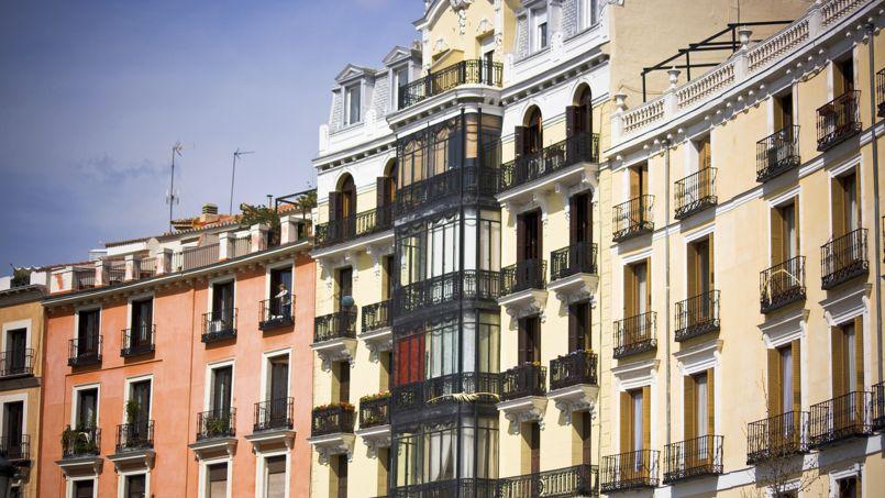 Le marché a été très largement tiré par les ventes dans l'ancien (ici, Madrid) en hausses de 18,4% tandis que celles du neuf continuent de baisser. Crédit: MorelSO/iStock