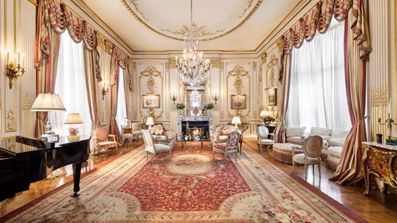 La salle de bal. Crédit: Corcoran group real estate.