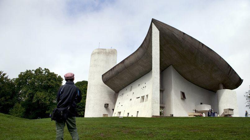 La chapelle Notre-Dame-du-Haut, à Ronchamp, accueille 80.000 touristes par an. Crédit: S. Bozon/AFP