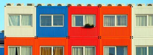 À Lyon, des conteneurs recyclés en logements pour les jeunes