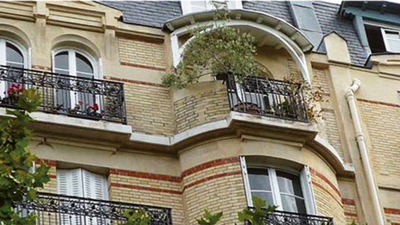 Le 95, rue Chardon-Lagache, préempté par la Ville, va abriter 9 logements sociaux d'ici à 2017. Crédit: DR.h