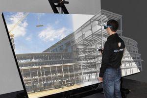 La réalité virtuelle aide les futurs architecte. (Crédit: Clarté/Virtualiteach)