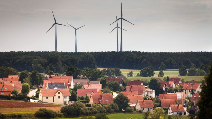 Les éoliennes sont-elles construites trop près des maisons?