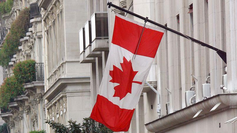 Le 35, avenue Montaigne, siège actuel de l'ambassade du Canada. Crédit: F. Fife/AFP
