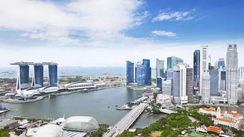 Singapour est la ville actuelle où apparaissent le plus de nouvelles fortunes. Crédit: TommL/iStock