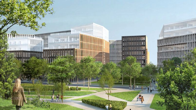 Le plus grand ensemble de bureaux neufs de paris cherche preneurs
