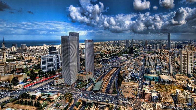 Tel Aviv, en Israël. Crédit: Flickr @ Ronsho.