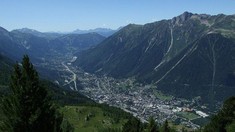 La ville de Chamonix. (Crédit: Flickr)