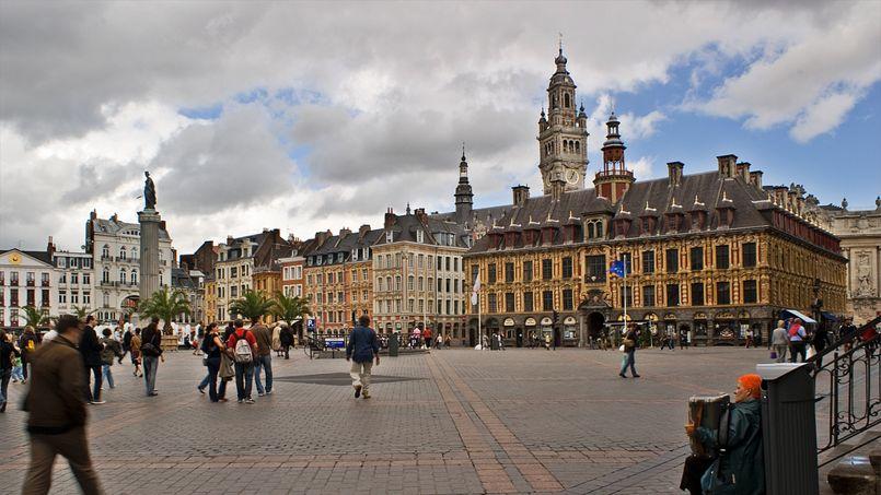 La ville de Lille, dans le nord de la France. Crédit: Flickr @ Ana.