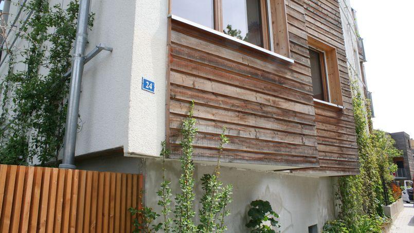 Le 24 rue de Lunéville, premier habitat participatif à Strasbourg. Crédit: Flickr @ Rue89 Strasbourg.
