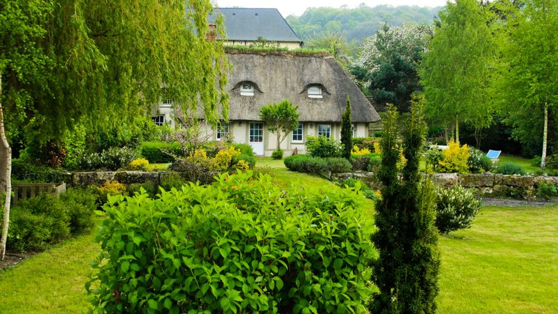 Une maison, en Normandie. Crédit: Flickr @ Antonio Ponte.