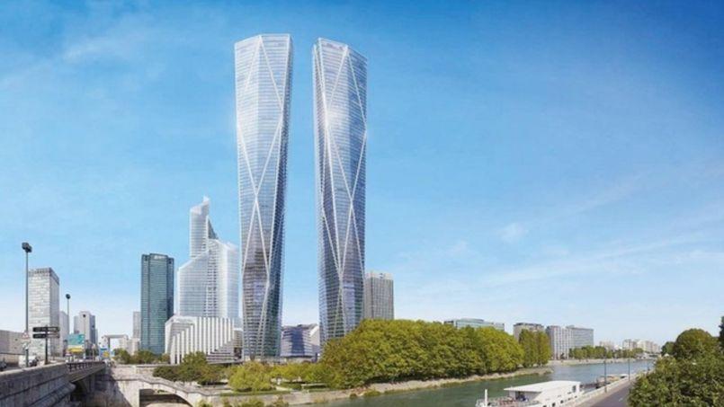 Le chantier des tours g antes de la d fense pourrait - La residence eb par replinger hossner architects ...