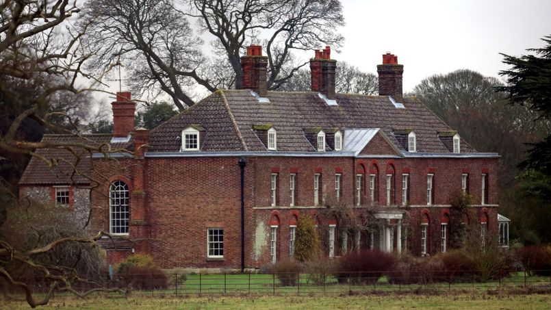 Anmer Hall Le Manoir O 249 William Et Kate 233 L 232 Veront George