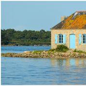 Un village près de la mer, lieu de villégiature idéal des Français