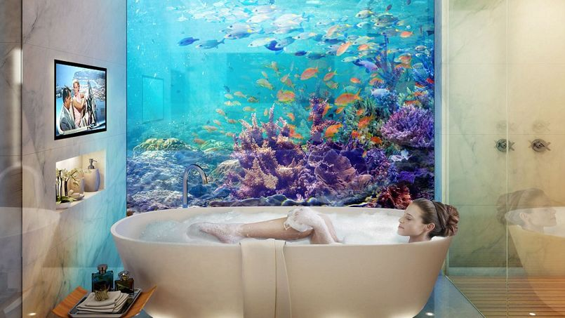Les villas flottantes avec chambre sous-marine font un tabac à Dubaï