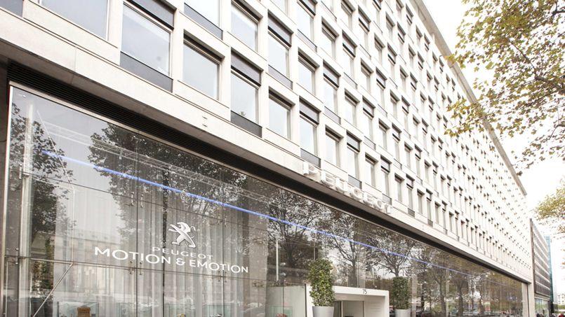 Le siège de PSA, avenue de la Grande Armée. Crédit: Ivanhoé Cambridge.com