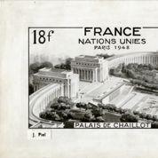 Les chefs-d'œuvre de l'architecture française à travers ses timbres