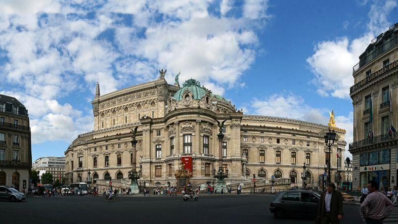 Le quartier de l'Opéra à Paris. Crédit: Alessandro Prada.