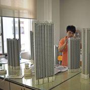 Le déclin de l'immobilier chinois touche aussi les maquettistes