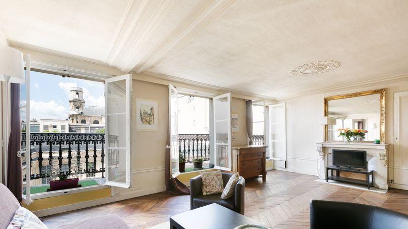 Un appartement parisien, dans le VIe arrondissement. Crédit: Barnes.