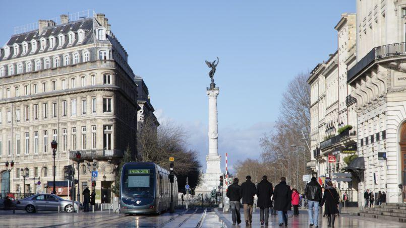 Le centre-ville de Bordeaux. Crédit: SuperCar-RoadTrip.fr (Flickr)