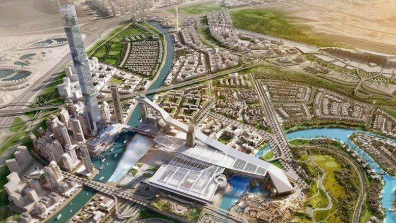 Voilà à quoi ressemblera la station une fois terminée. Crédit: Meydan.