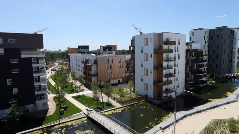 C'est dans l'écoquartier Ginko réalisé par Bouygues immobilier que l'accident s'est produit. Crédit: Bouygues Immobilier