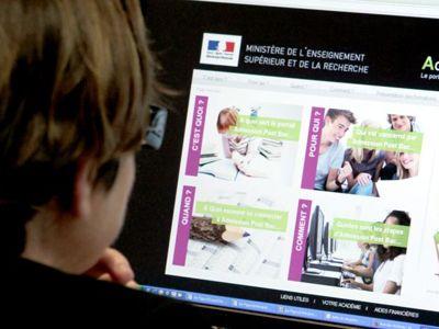 Le logiciel informatique APB va enregistrer les souhaits des lycéens de terminale pour leur inscription dans les études supérieures. Sébastien SORIANO/Le Figaro
