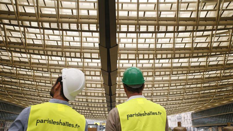 L'édifice comporte 10.000 m² de toiture en verre.