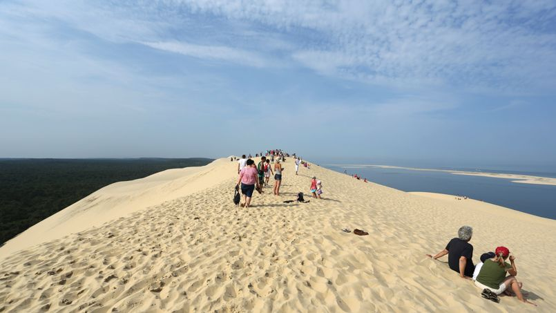 La dune du Pilat, la plus haute dune d'Europe, dégagerait entre 11 et 13 millions d'euros de retombées directes, et jusqu'à 168 millions d'euros de recettes indirectes.