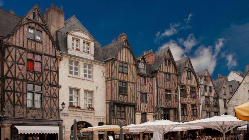 Avec 135.000 habitants, Tours est la première commune de la région.