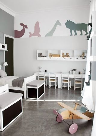 comment am nager une chambre partag e par plusieurs enfants. Black Bedroom Furniture Sets. Home Design Ideas