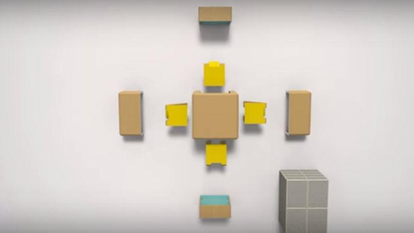 l invention d un tudiant en design pour meubler son appartement en 15 minutes le figaro. Black Bedroom Furniture Sets. Home Design Ideas
