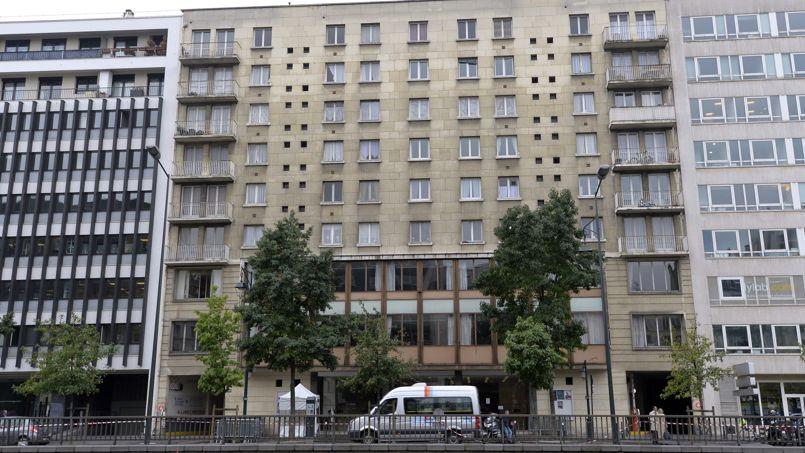 Un immeuble de logements sociaux, à Neuilly-sur-Seine.