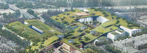 Un jardin de 12 hectares sur le toit d'un centre commercial