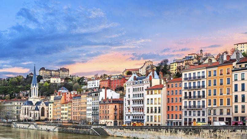 Pour les professionnels de l'immobilier, le marché (ici, Lyon) reprend des couleurs.