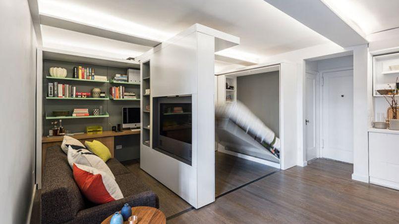 Appartement Ikea ikea mise sur le mur amovible pour optimiser les petites surfaces