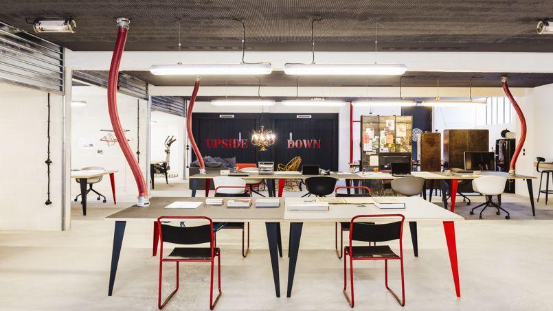 Le garage central revisite l immeuble de bureaux en mode hipster