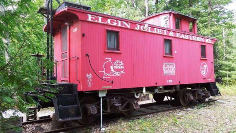 Un petit morceau d'histoire ferroviaire américaine. Crédit: WIREX_DCBR/ERA Starr Realty